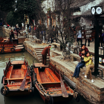 Chinese Canal in Suzhou