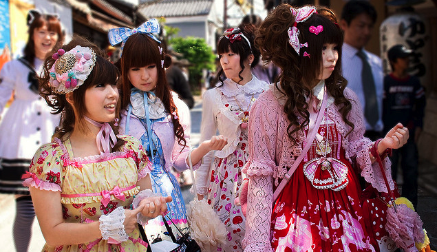 Japanese Girls, Chikka day in Kyoto by Spreng Ben