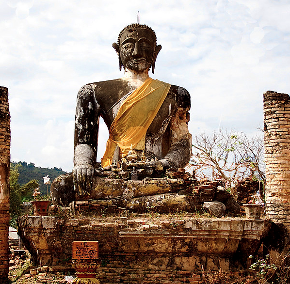 The Injured Buddha by Fabio Gismondi