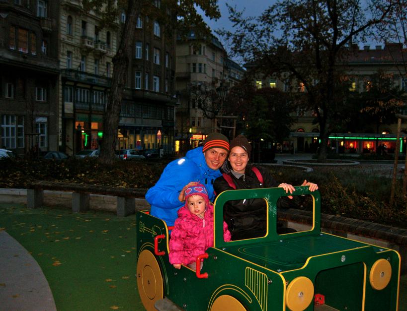 Budapest Market Hall Playground