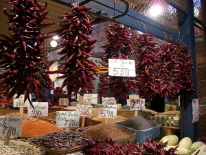 Great Market Hall Budapest Hungarian Paprika Vendor dpotera