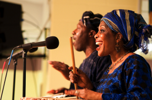 African Singers in Budapest
