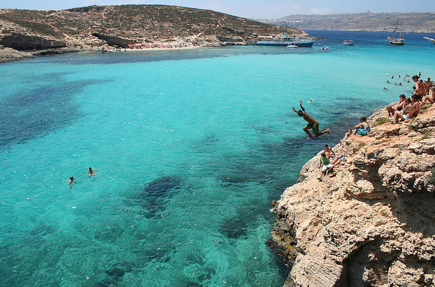 Cliff Jumping Malta Attractions Jon Rawlinson