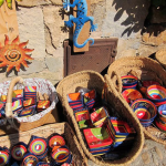 Colorful Pottery Tossa de Mar Spain
