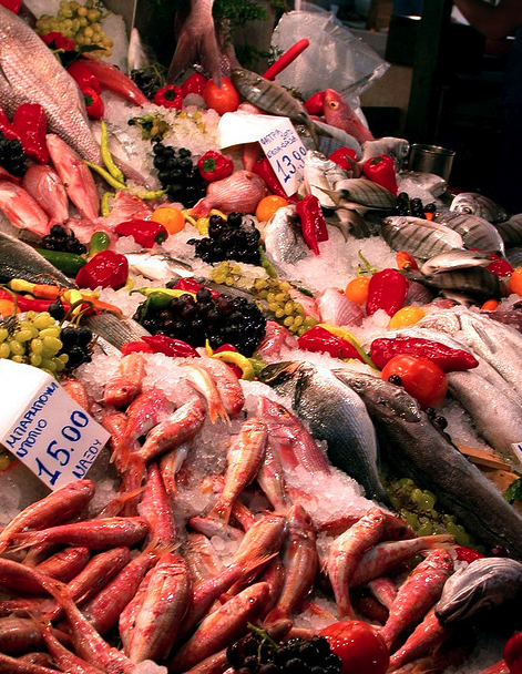 Fish Market Athens Greece Finizio