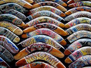 Boomerangs - Victoria Market Melbourne Geof Wilson photography