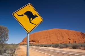 Kangaroo sign photo by bluedeviation