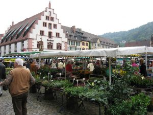 Market in Germany photo by Tim McLaughlin