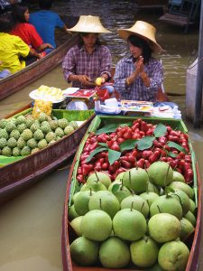Thai Floating Market photo by Natasha D