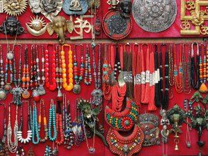 Kathmandu-Colorful Nepalese souvenirs photo by Güldem Üstün