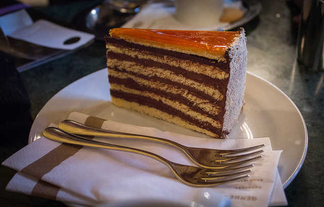 Dobos torte photo by Simon Q