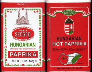 Hungarian Sweet & Hot Paprika photo by Ali Eminov