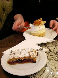 Retes and Kremes- Strudel and Custard Slice photo by meaduva