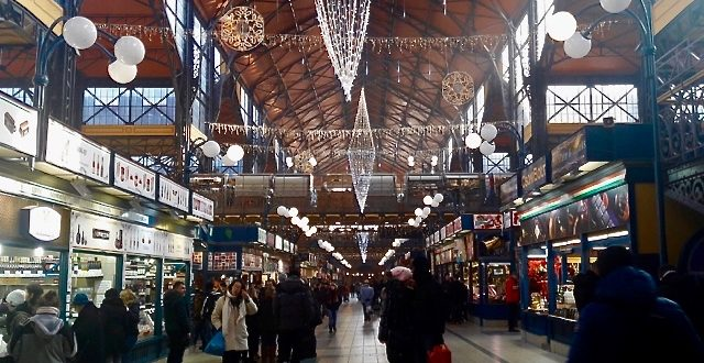 Great Market Hall Budapest December